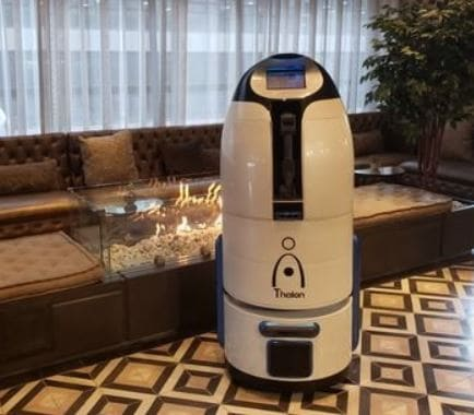 Características de Thalon, el robot botones para hoteles