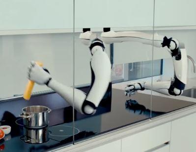 El robot de cocina Moley es el rey de la casa