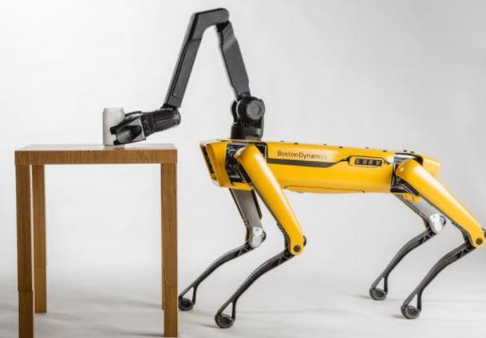 El robot Spot incrementa sus prestaciones