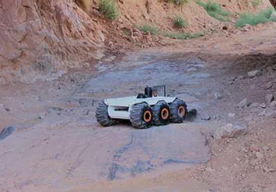 Aion Robotics realiza el robot explorador M6 UGV